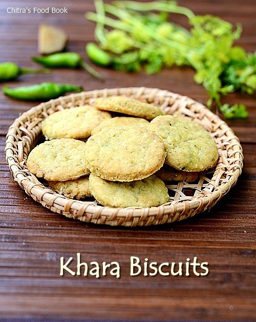 Khara Biscuit Recipe / Masala Biscuits - Savory Cookies