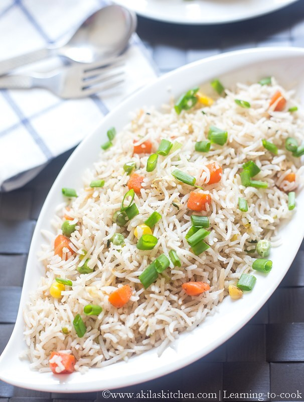 Veg fried rice | How to make Vegetable Fried Rice