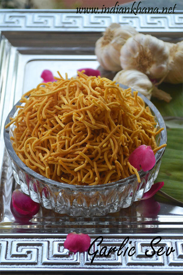 Garlic Sev Recipe | Lahsun Sev | Diwali Recipes