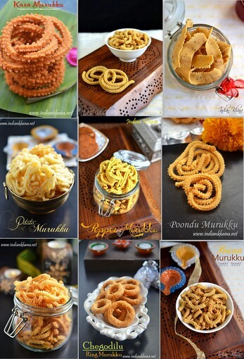 Murukku Recipes | Easy Murukku (Chakli) Recipes for Diwali