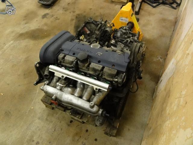 Volvo V70R motor B5234T8 nya mod med VVT