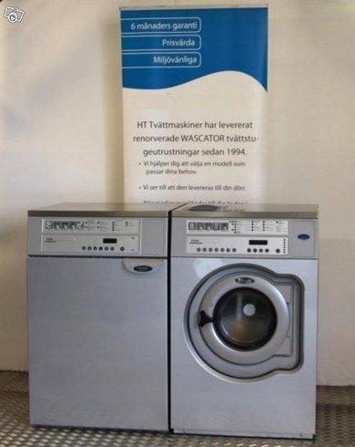 4 st Wascator. Tvättmaskiner o Torktumlare