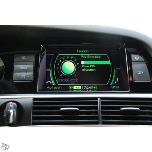 Audi MMI3G Bluetooth handfree BT-HF sats/A2DP