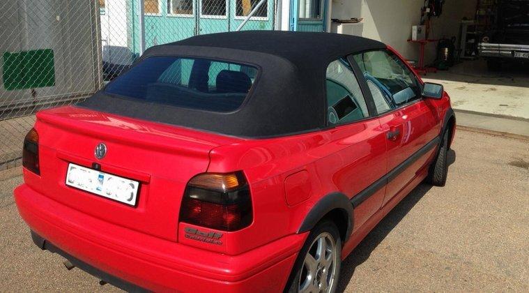 Sufflett cab till VW Golf III 1994- 2002