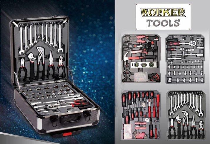 Worker Tools Verktygsväska 186 Delar