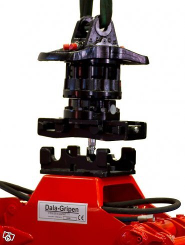 Quick Connector snabbfäste rotator/grip