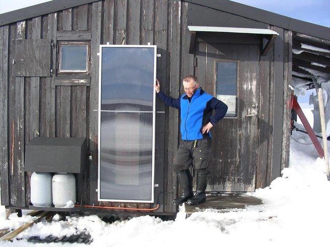 Luftvärme solfångare SolarVenti
