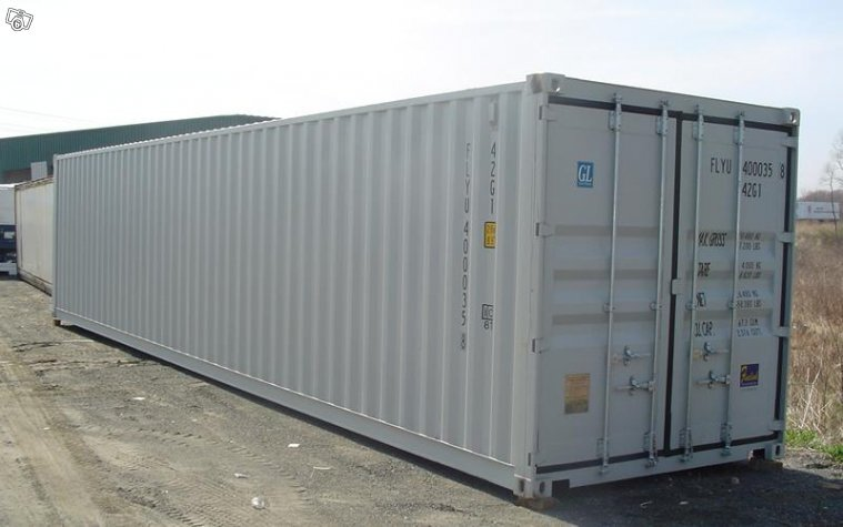 Nya & Begagnade 40 Fots Containers