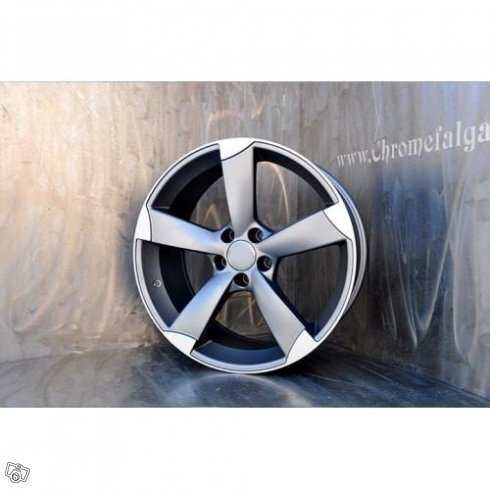 "18"" 5 spoke matt Ant/​Polish fälgar Audi A1m.m"