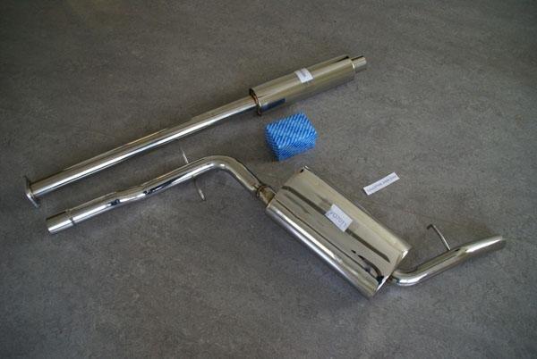 Rostfria avgassystem Volvo V70,S60,S80,940