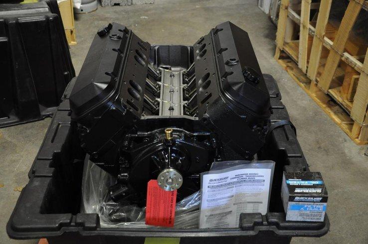 Renoverad från Mercruiser MK6 Long Block