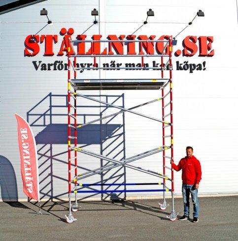 Rullställning Alufase 5,5m - 16.900kr