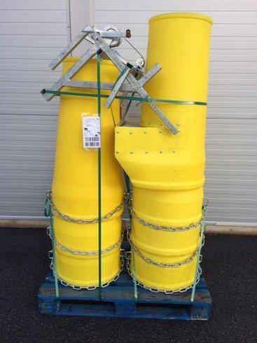 Störttrumma 6 m , Baspaket inkl vinch ALTRAD