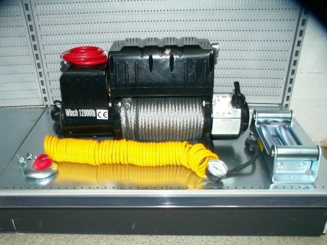 El-vinch med kompressor