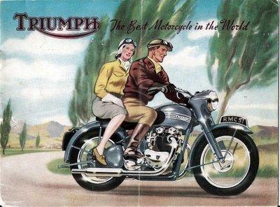 Nya och beg. delar till engelska motorcyklar