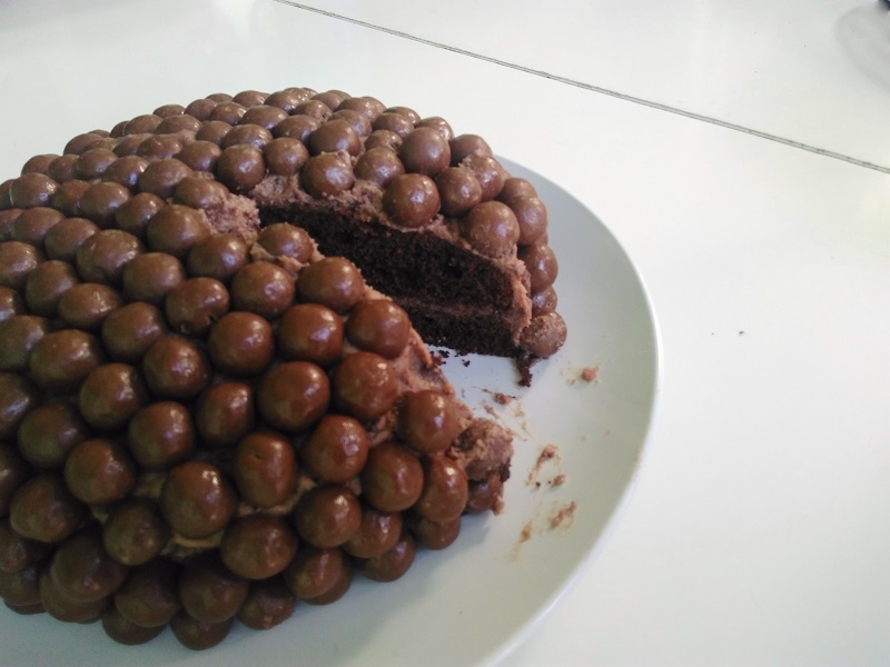 Food: Maltezer Chocolate Cake
