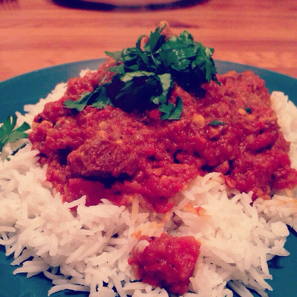Lamb rogan josh curry