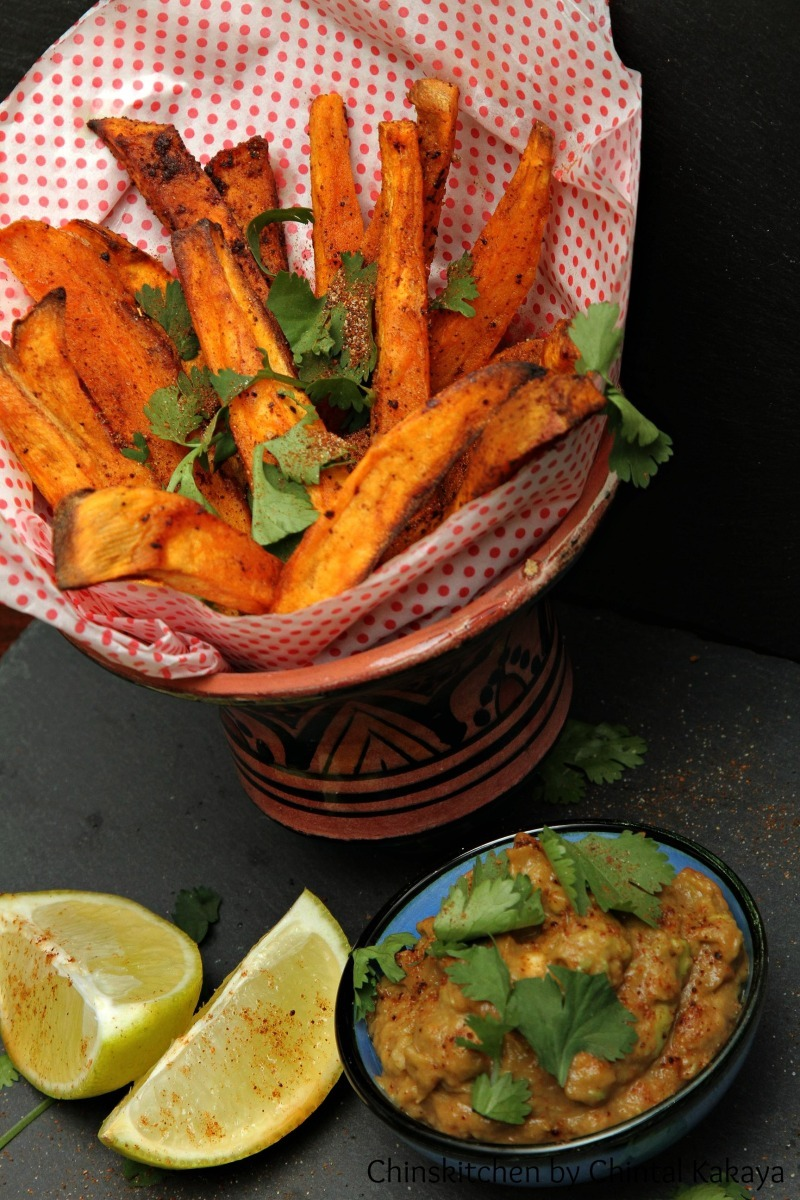 Chipotle Spiced Sweet Potato Fries