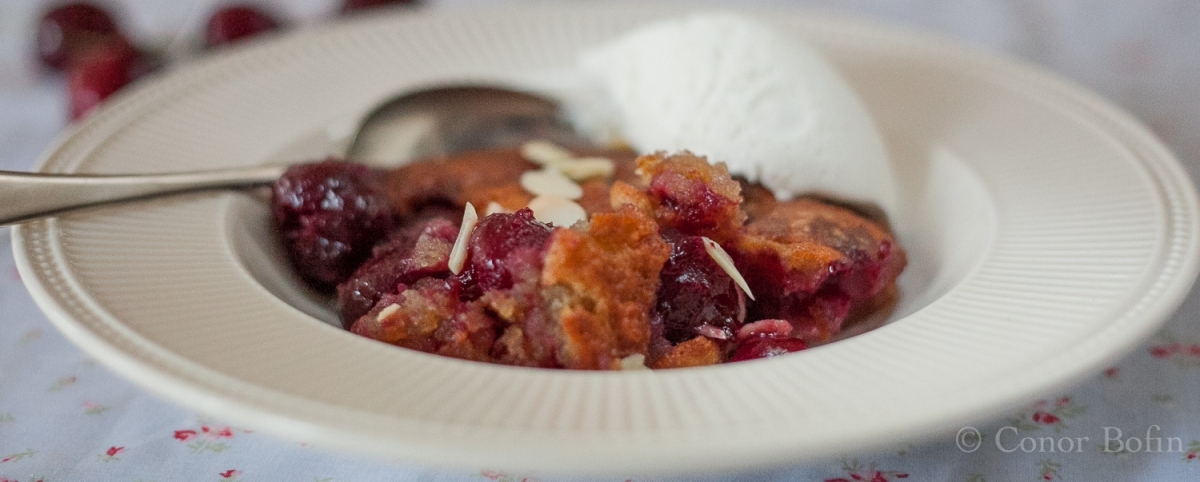 Cherry Cobbler – Food to heal your soul.