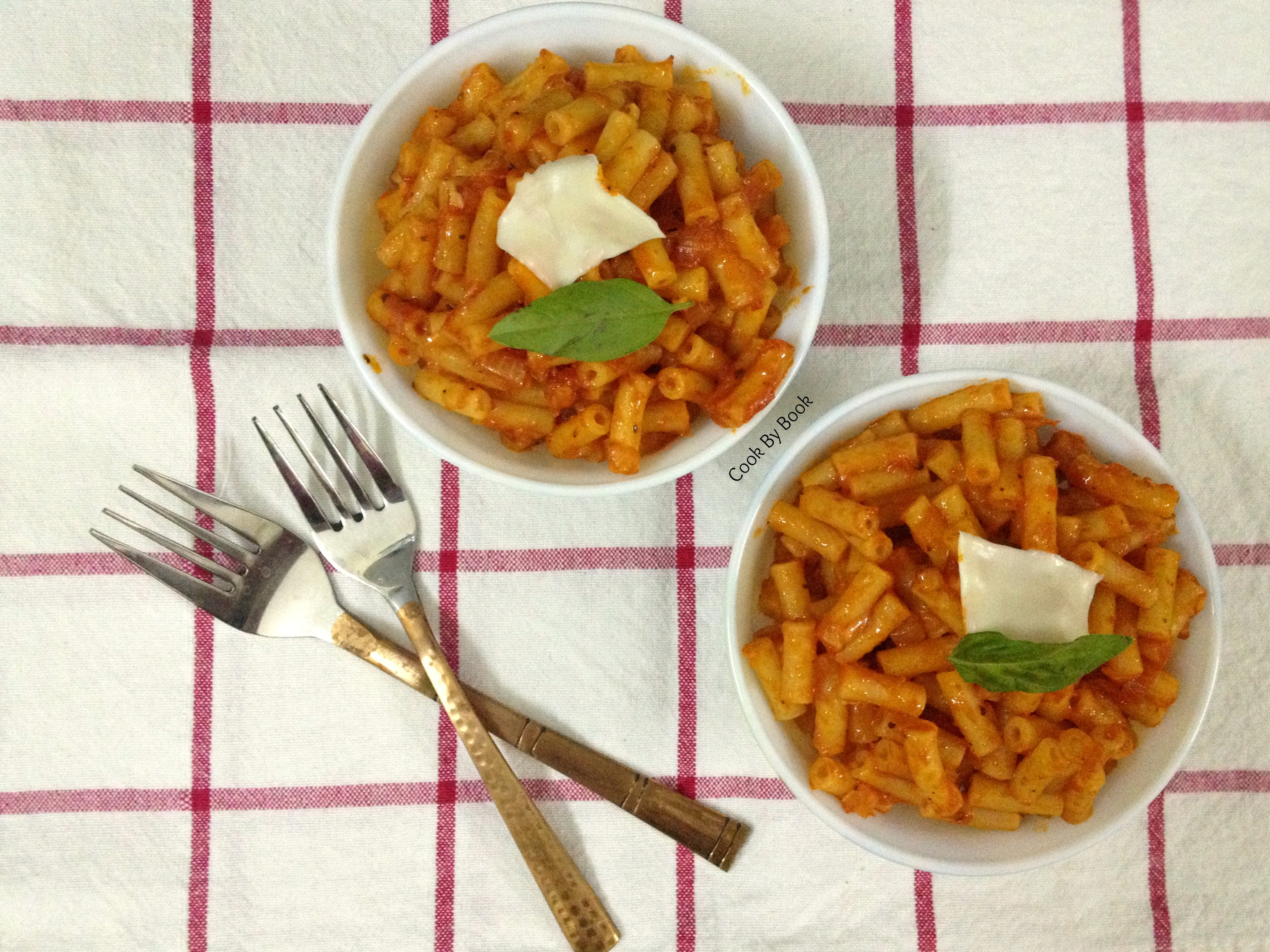 5-minute Tomato Pasta Sauce ~ Meal for Two & Some Chit Chat