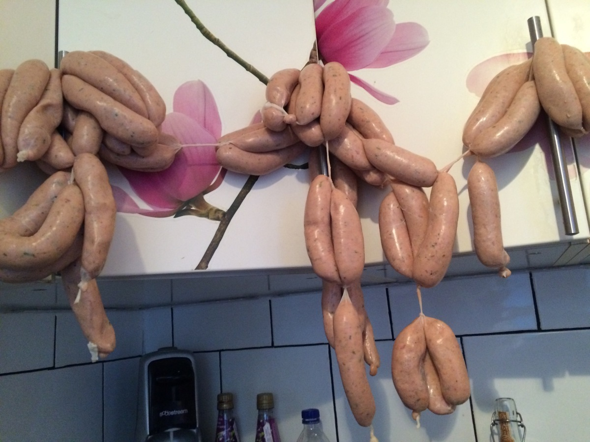 Sausages, bangers, snags, links..