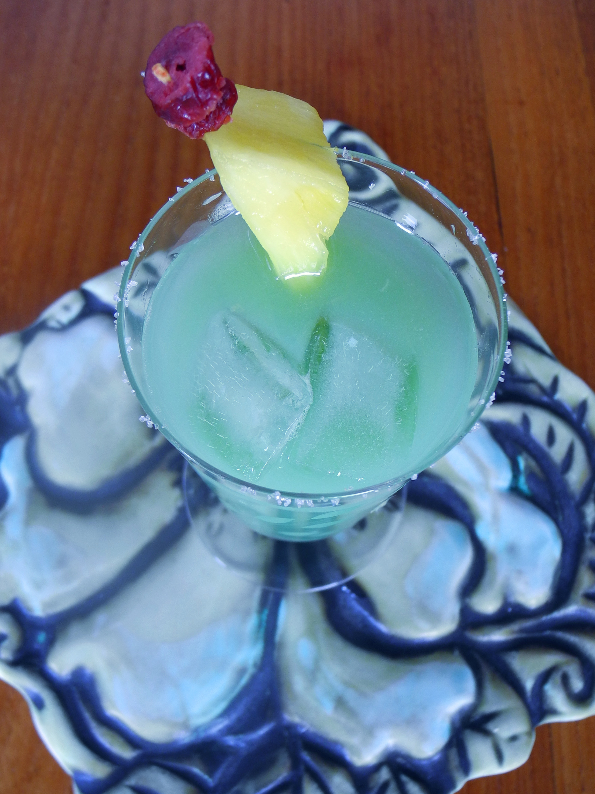 Frozen Blues: cocktail of the hour