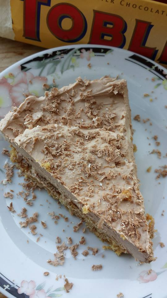 For my Love ( Toblerone Cheesecake)