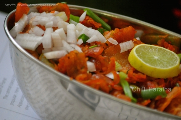 Chilli Chapathi -Indo Chinese Dish