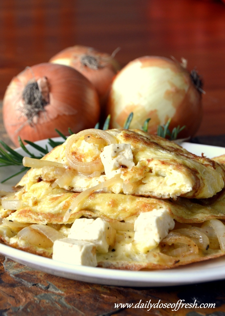 Magda van Wyk wrote a new post, Banting breakfast on a budget – Caramelized onion and Feta omelette, on the site Daily Fit.Nutrition