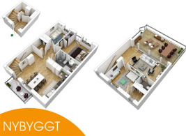 106 m2 lägenhet i Helsingborg