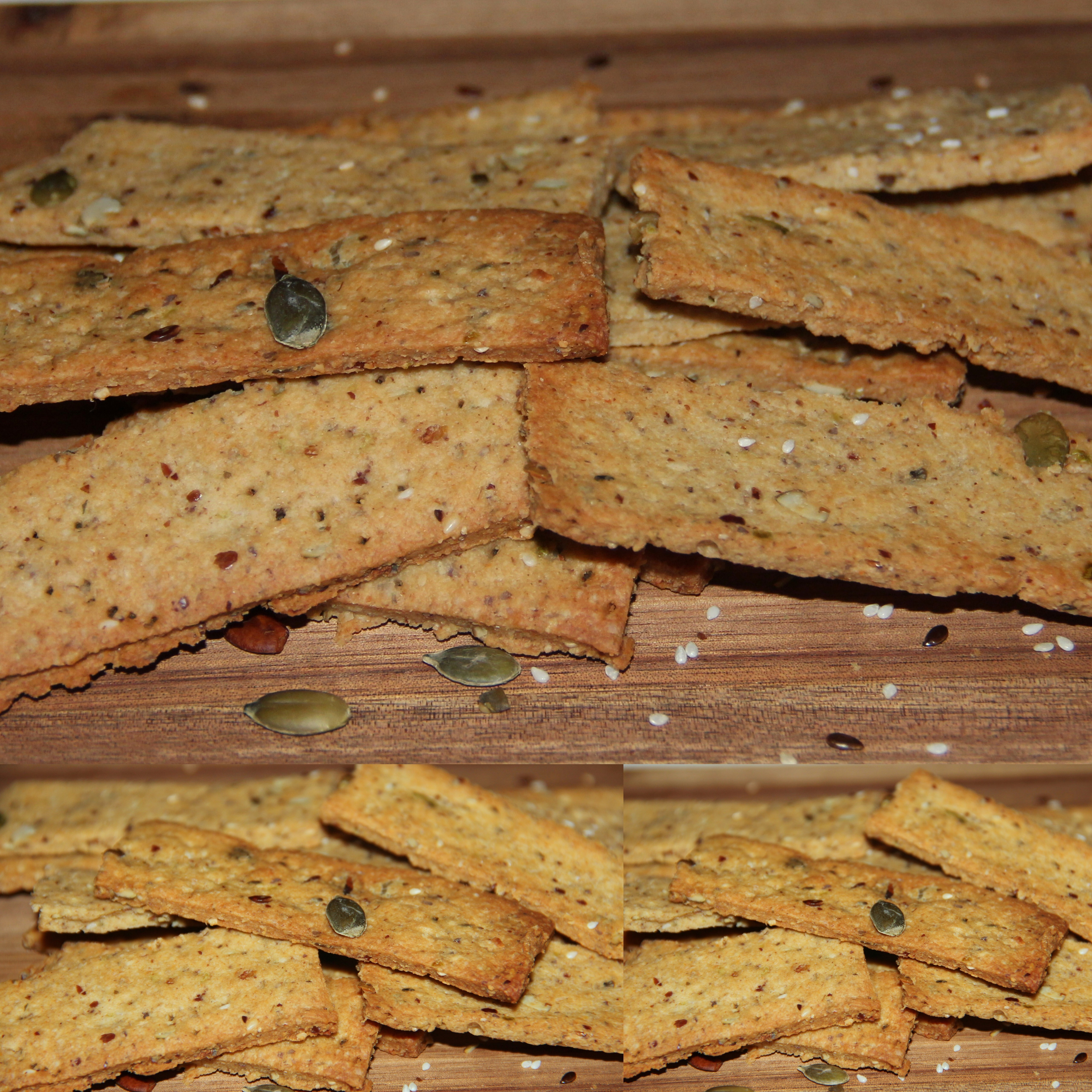 Oats – Wheat seeded savoury crackers