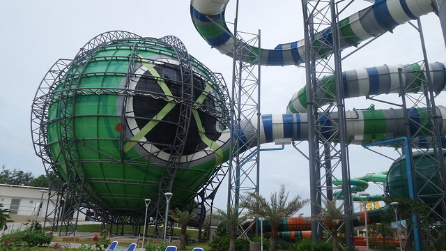 Cartoon Network Amazone water park in Pattaya