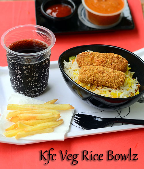 KFC Veg Rice Bowlz Recipe-Sunday Lunch Recipes Series 26