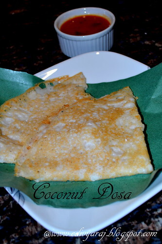 Rice and Coconut Crepes / Dosa (Neer Dosa)