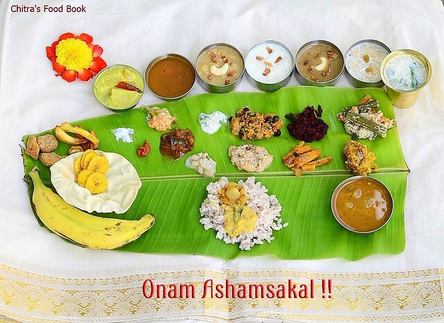 Onam Sadya Recipes/Ideas-Kerala Lunch Menu