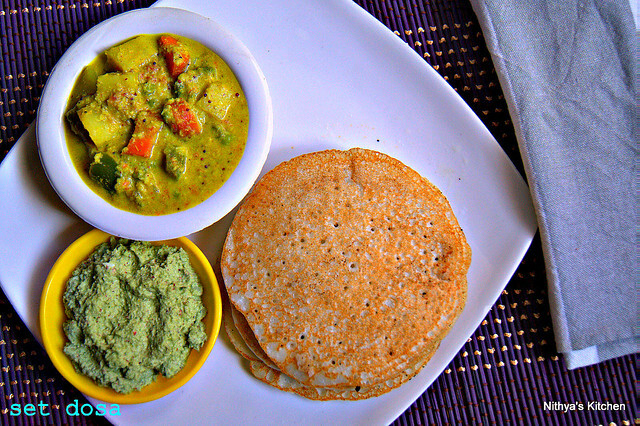 SET DOSA/DOSA VARIETIES/KARNATAKA RECIPES