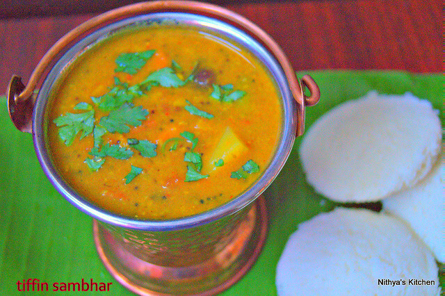 TIFFIN SAMBHAR