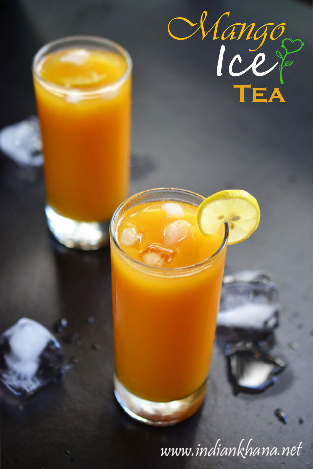 Mango Iced Tea Recipe | How to Make Mango Iced Tea