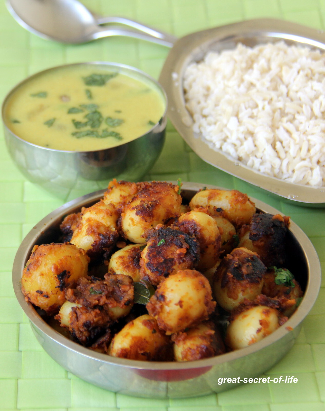 Baby Potatoes Fry - Small Potato fry - Simple Potato Recipe