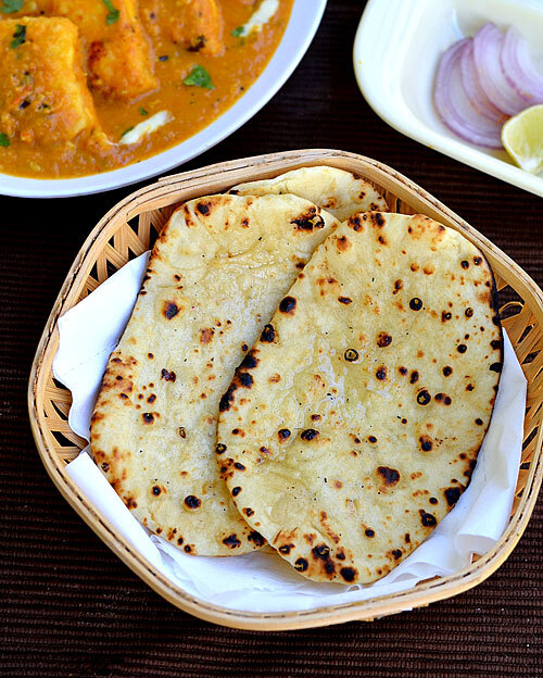 Naan Recipe Without Yeast On Stove Top-How To Make Naan In Tawa