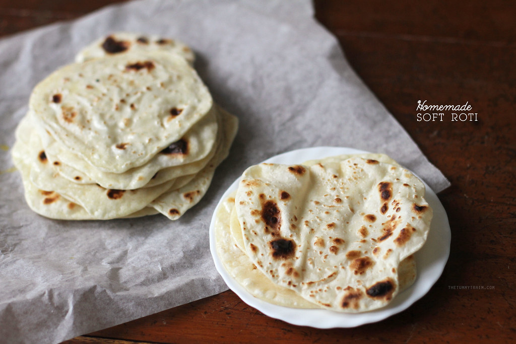 Indian Bread Diaries #1: Learning how to make Soft Roti or Phulka