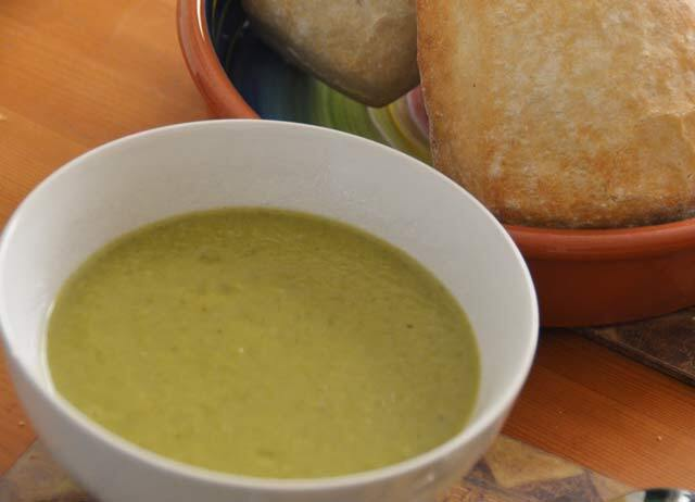 Spring Greens Soup