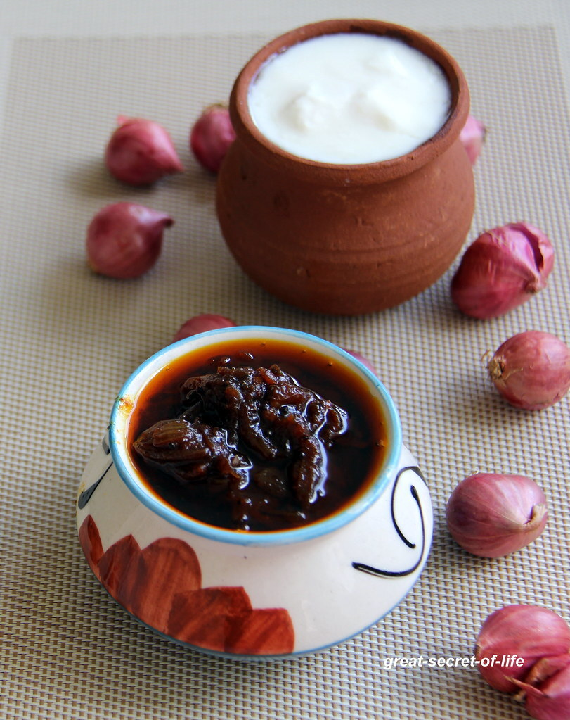 Small Onion Pickle - Shallots pickle - Side dish recipe