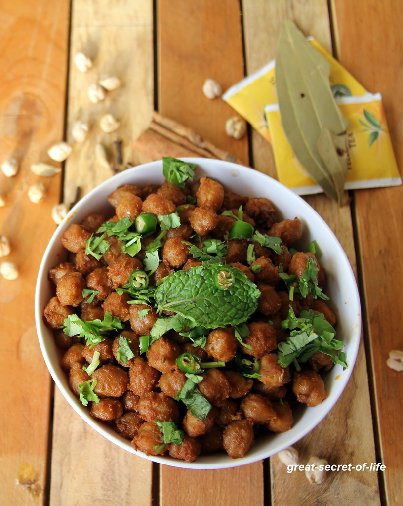 Pindi Chole Recipe - pindi chana Recipe- Dry Chana recipe- Dry chole recipe - Simple sidedish recipe - Simple snack Recipe