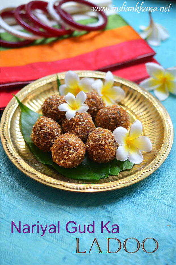 Coconut Jaggery Ladoo | Kobbari Louz | Diwali Sweets Recipes