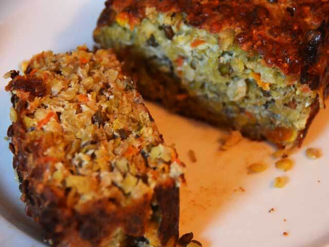 Nut Roast With Lentils