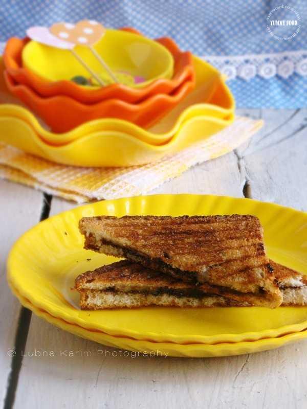 Grilled Chocolate Banana Sandwiches are more….