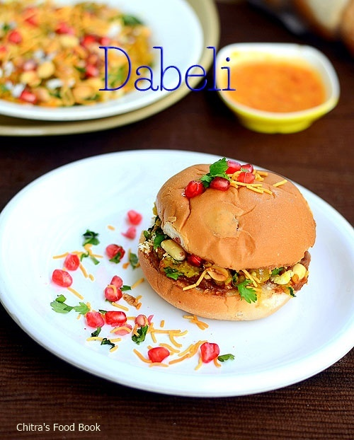 Dabeli Recipe-Kacchi Dabeli-Gujarati Snack Recipes