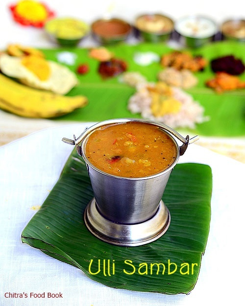 Kerala Ulli Sambar Recipe-Onion Sambar For Idli,Dosa & Rice