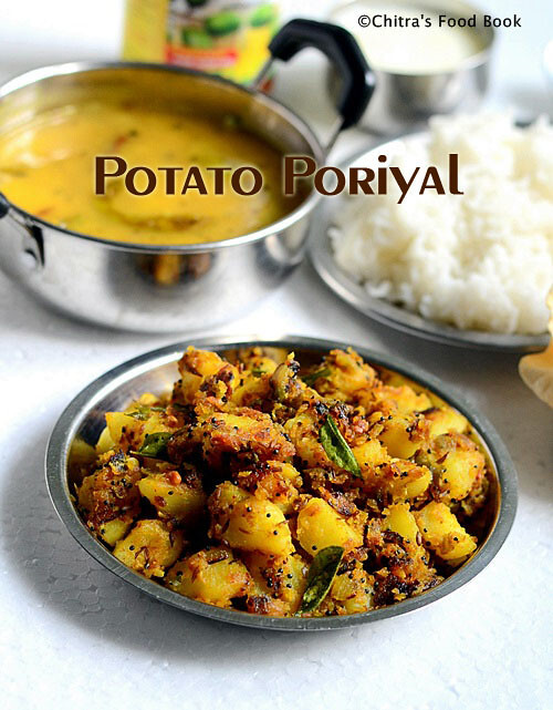 Potato Curry Recipe/Urulaikilangu Poriyal